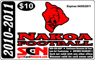 Nakoa Spirit Card